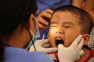kid dental visit