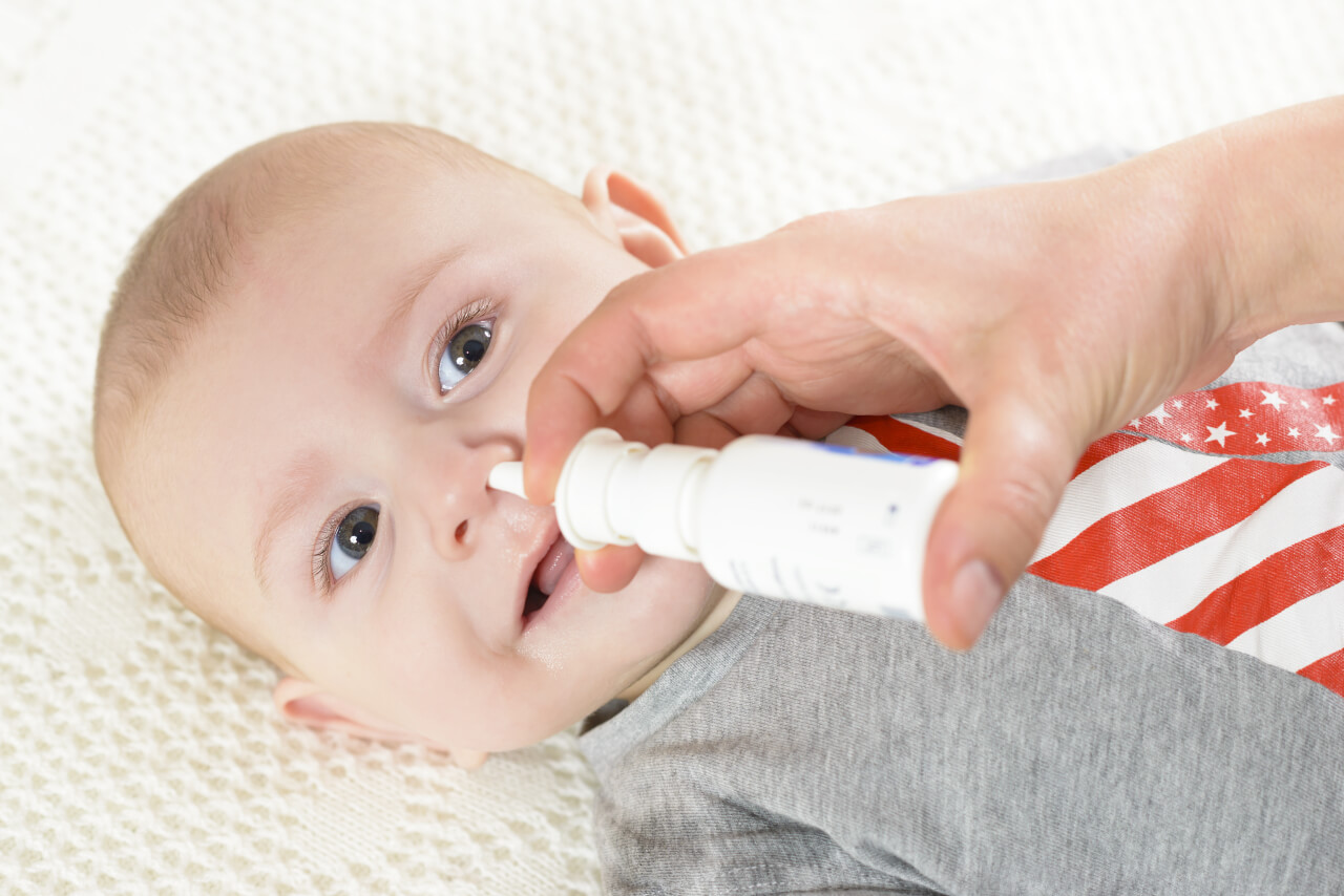 nasal spray for babies