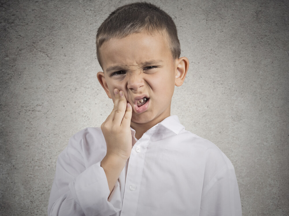 tooth abscess in children