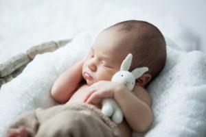 unvaccinated child around baby