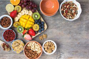 set of foods free of gluten