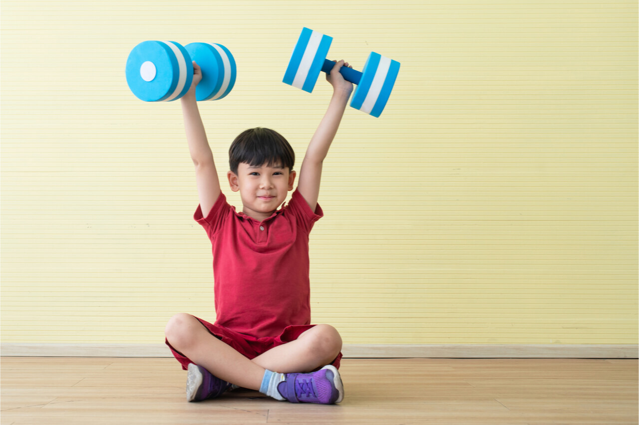 kid workout equipment