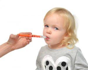 ibuprofen using syringe