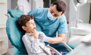 A pediatric dentist can help save your child's teeth. Visit them regularly.